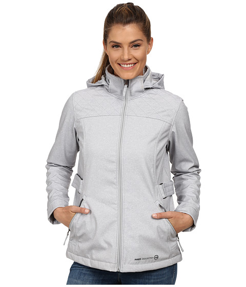 Free Country - Butterpile Softshell (Winter Silver/Heather Grey) Women's Clothing