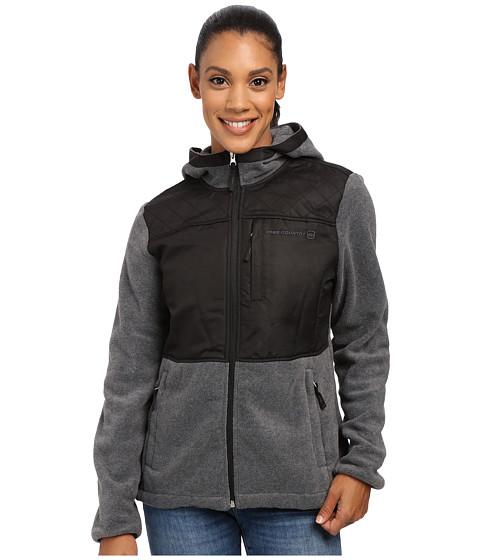 Free Country - Heather Fleece (Charcoal/Black) Women's Fleece