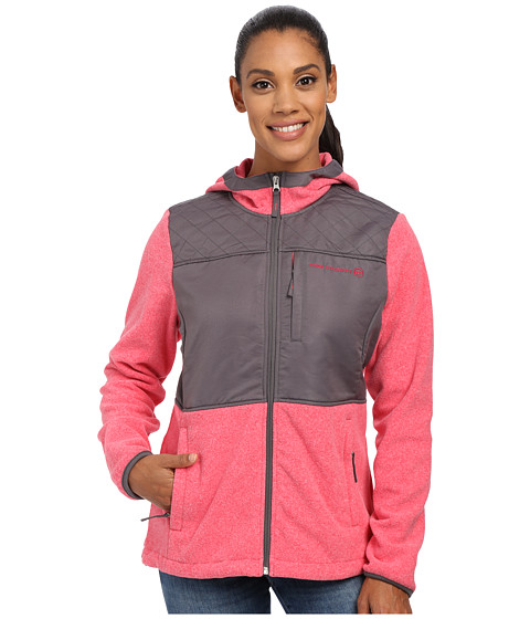 Free Country - Heather Fleece (Rose Whip/Light Grey) Women's Fleece