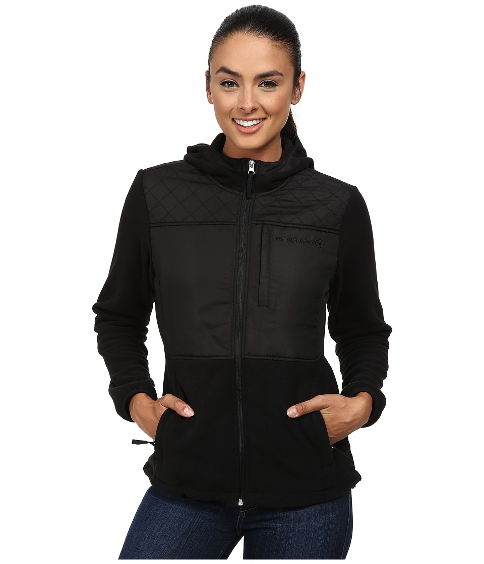 Free Country - Heather Fleece (Black Solid) Women's Fleece