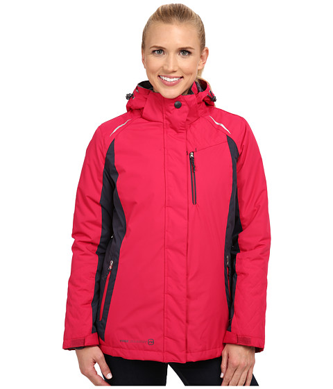 Free Country - 3-in-1 Systems Jacket (Rose Whip/Gunmetal/Gunmetal) Women's Coat