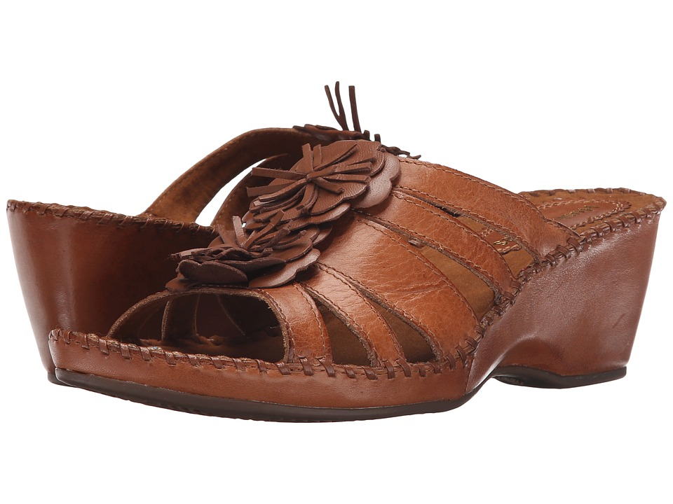 Hush Puppies - Gallia Copacabana (Tan Leather) Women's Sandals