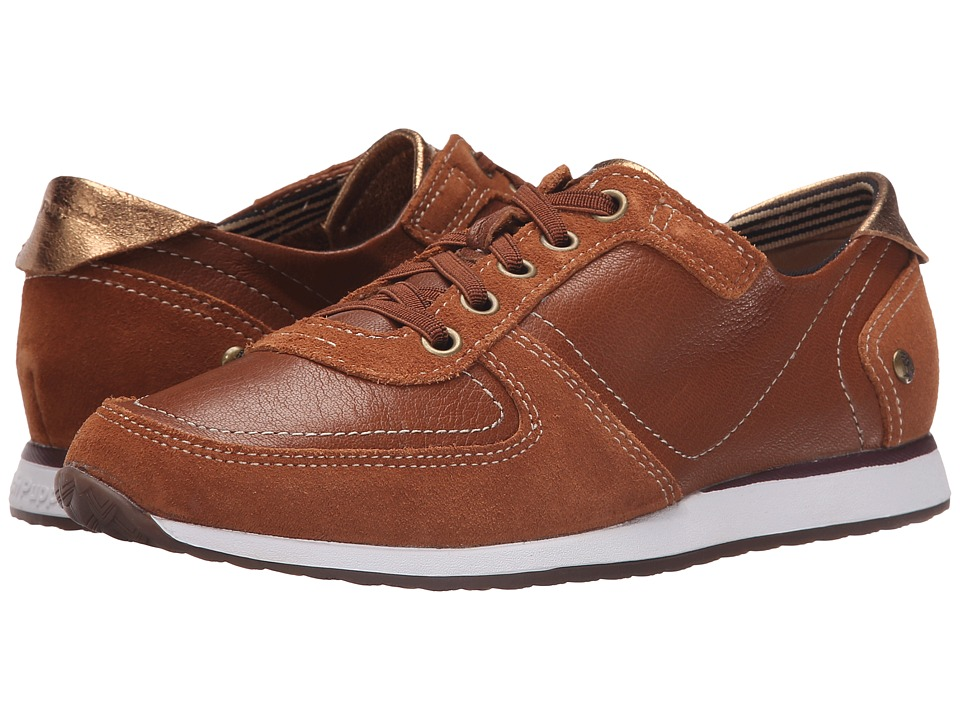Hush Puppies Chazy Dayo (Cognac Leather) Women