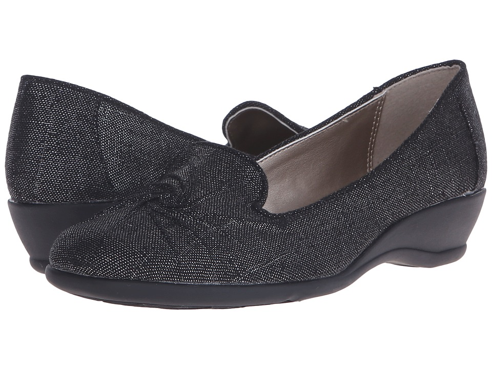 Soft Style - Rory (Black Sparkle) Women's Shoes