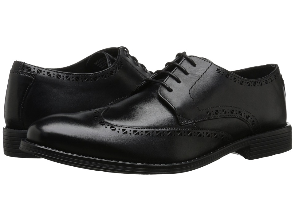Stacy Adams - Rayburn (Black) Men's Lace Up Wing Tip Shoes
