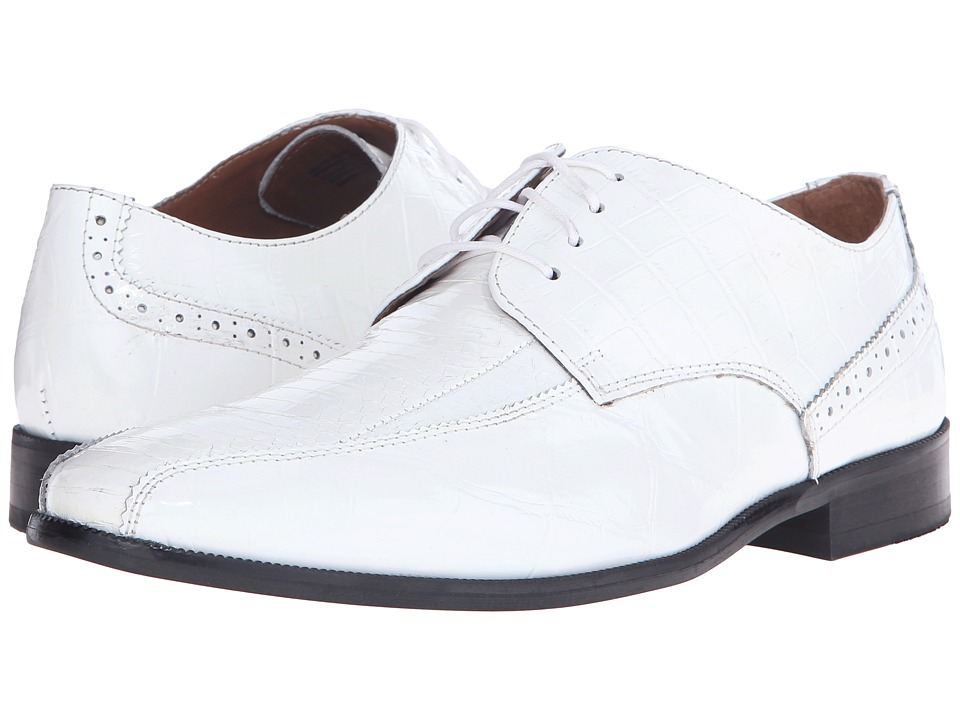 Stacy Adams Sabatini (White) Men