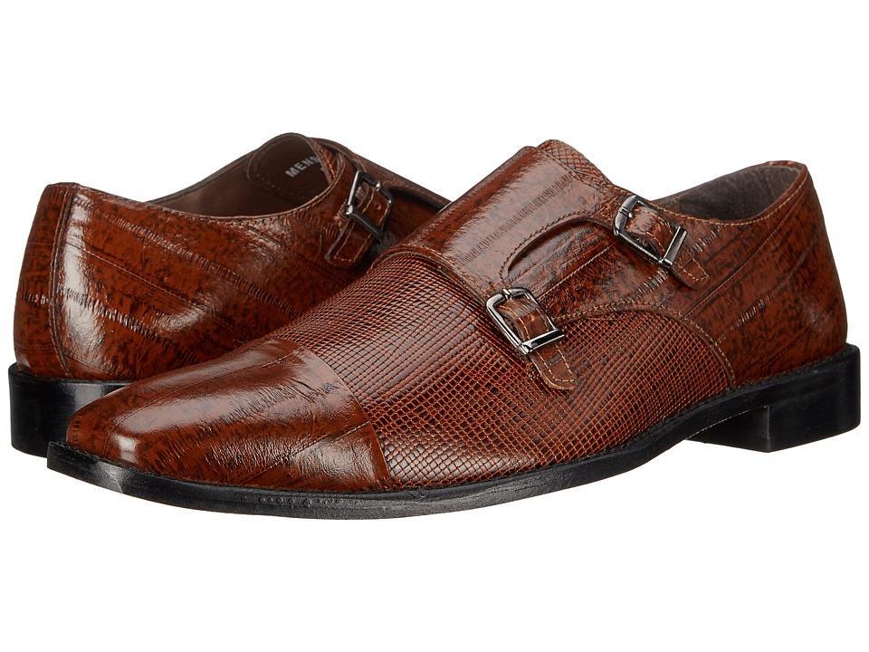 Stacy Adams - Gardello (Mustard) Men's Monkstrap Shoes