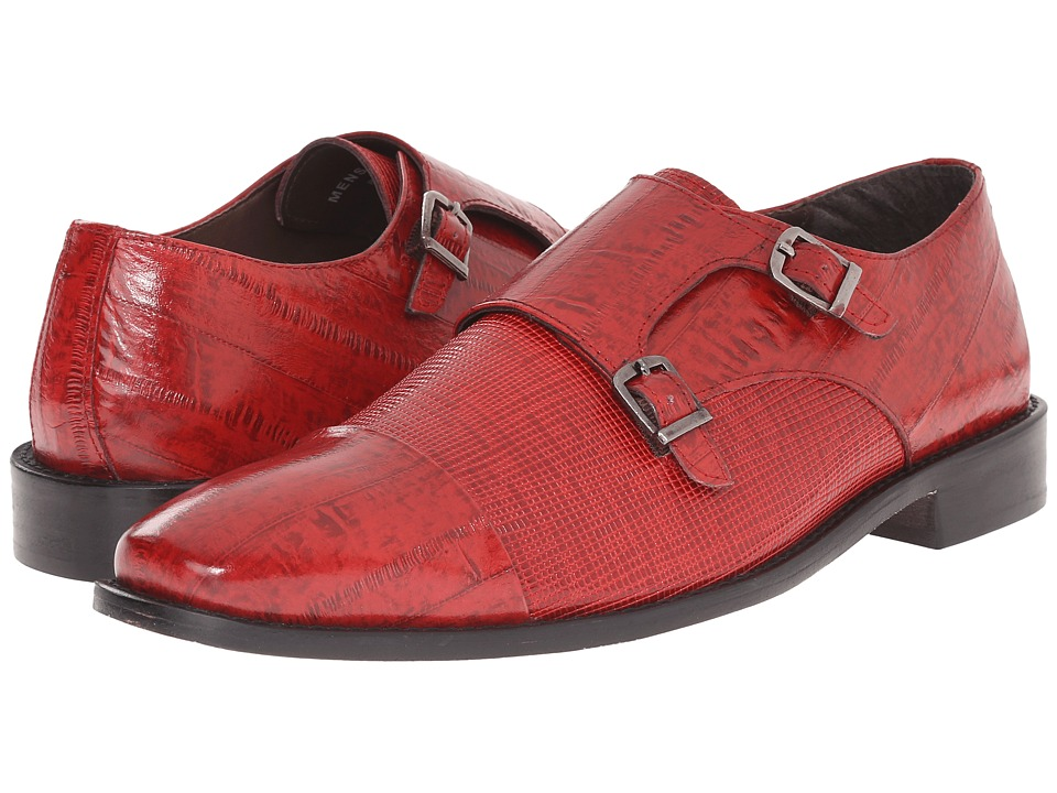 Stacy Adams - Gardello (Red) Men's Monkstrap Shoes