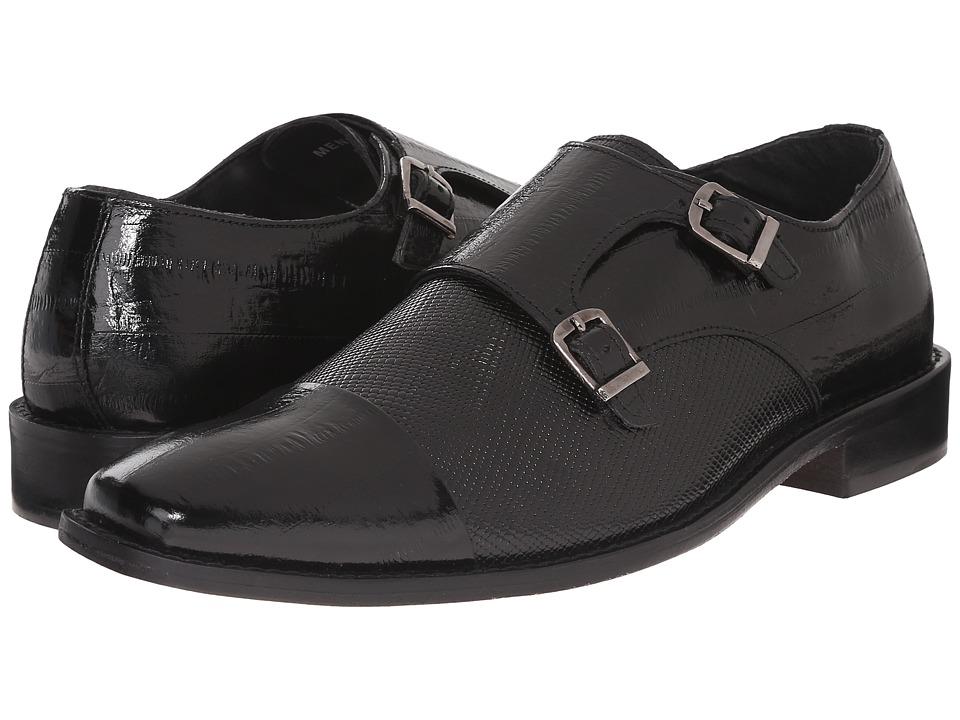 Stacy Adams - Gardello (Black) Men's Monkstrap Shoes