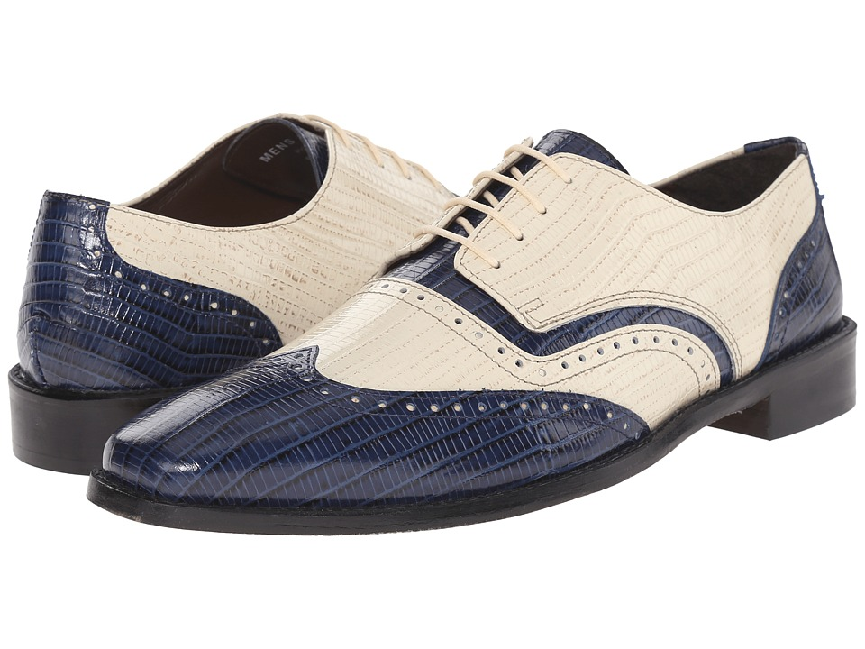 Stacy Adams Granado (Dark Blue/Ivory) Men