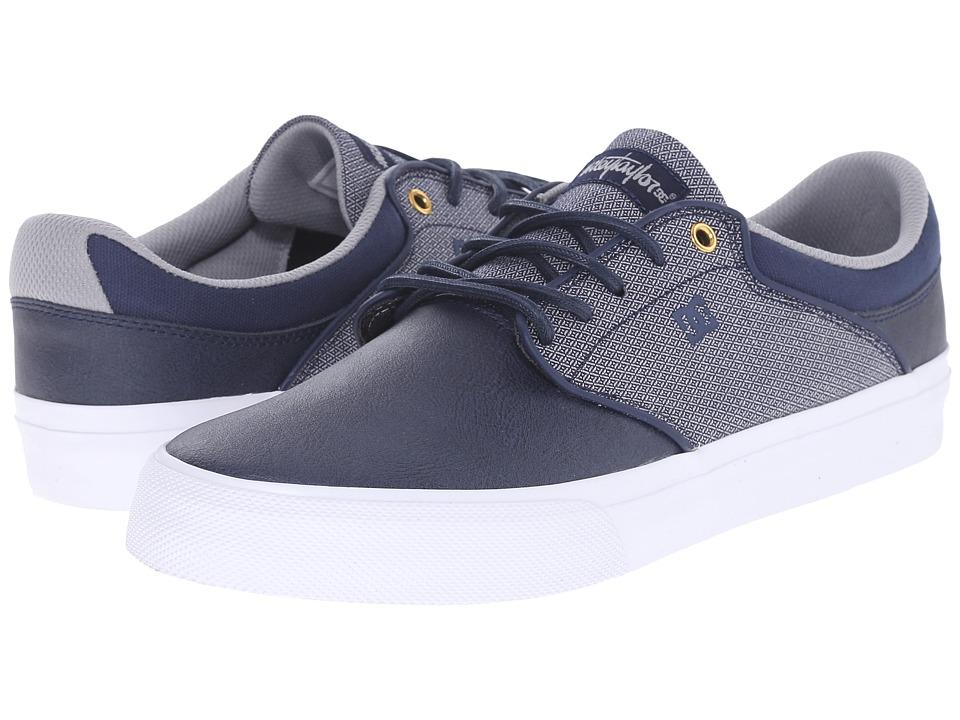 DC - Mikey Taylor Vulc SE (Navy) Men's Skate Shoes