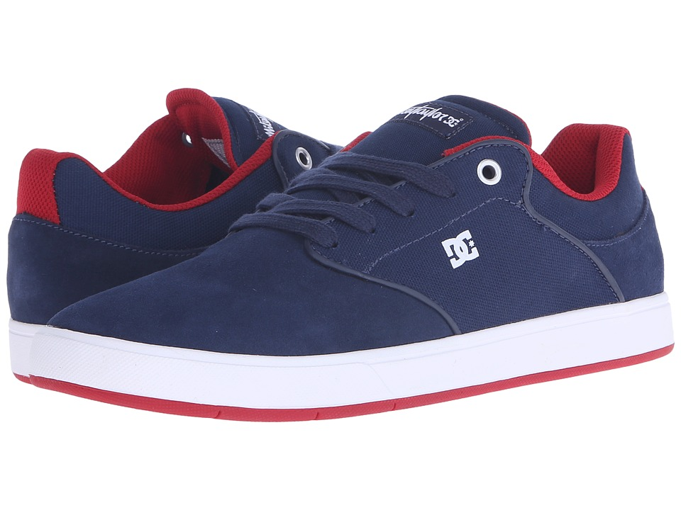 DC - Mikey Taylor (Navy/Red) Men's Skate Shoes