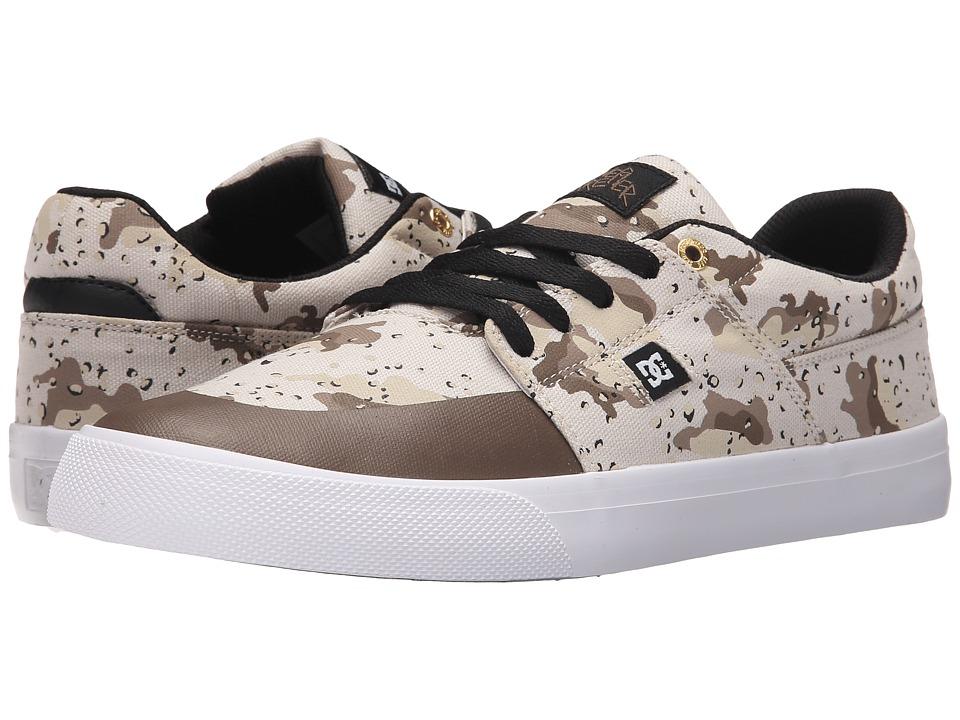 DC - Wes Kremer TX SP (Desert Camo) Men's Lace up casual Shoes