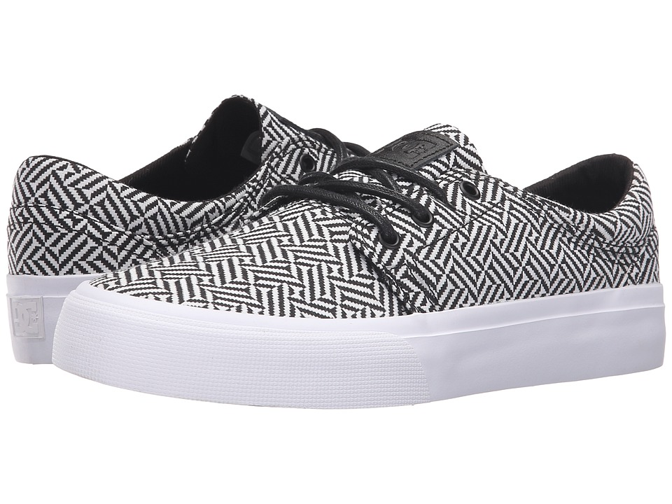 DC - Trase SE (Grey/Black/White) Skate Shoes
