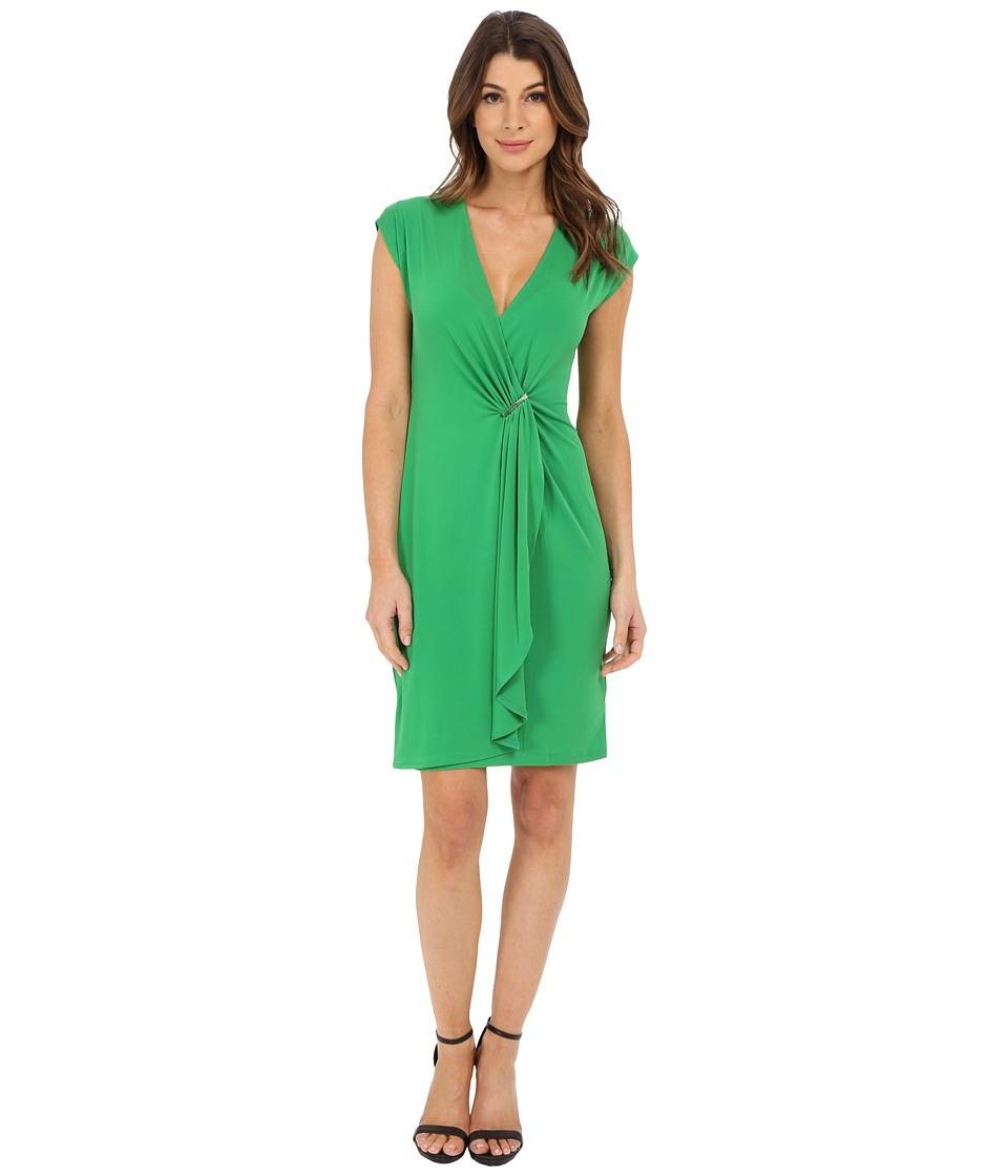 MICHAEL Michael Kors - Cap Sleeve Founce Dress (Spring Green) Women's Dress
