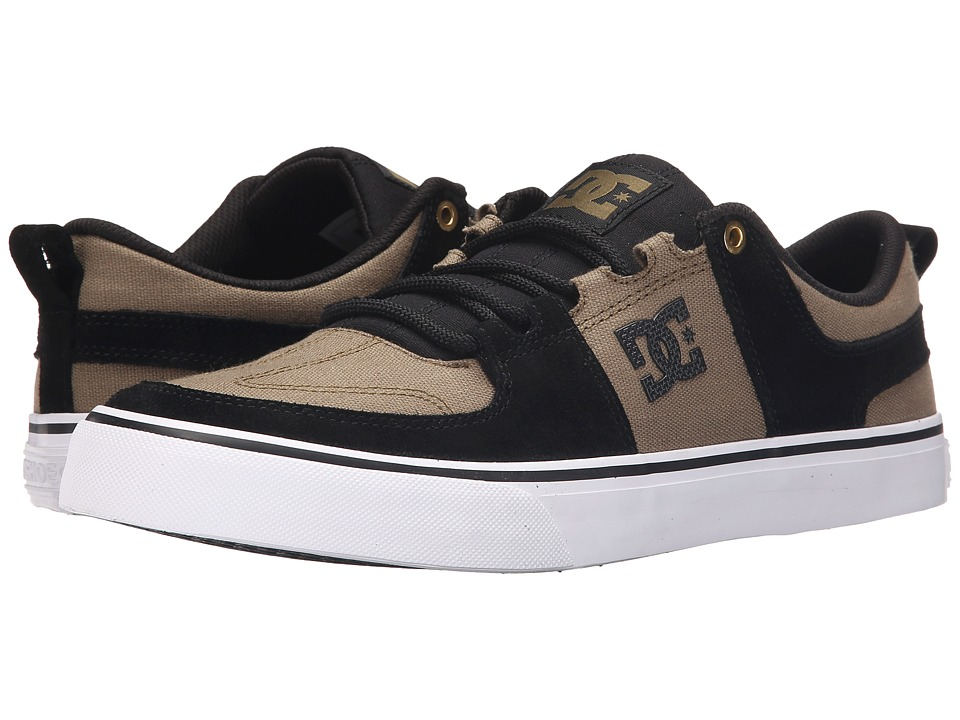 DC - Lynx Vulc SE (Black/Military) Men's Shoes