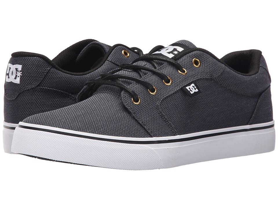 DC Anvil TX SE (Black/Gunmetal/White) Men