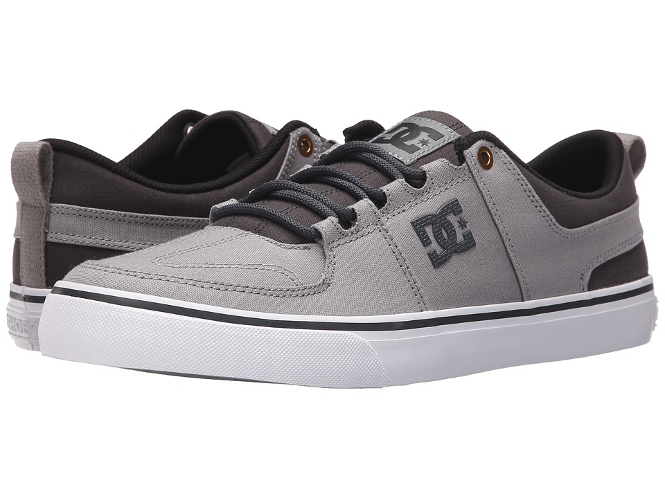 DC - Lynx Vulc TX (Grey/White) Skate Shoes