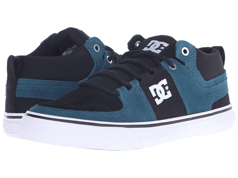 DC - Lynx Vulc Mid (Deep Teal) Skate Shoes