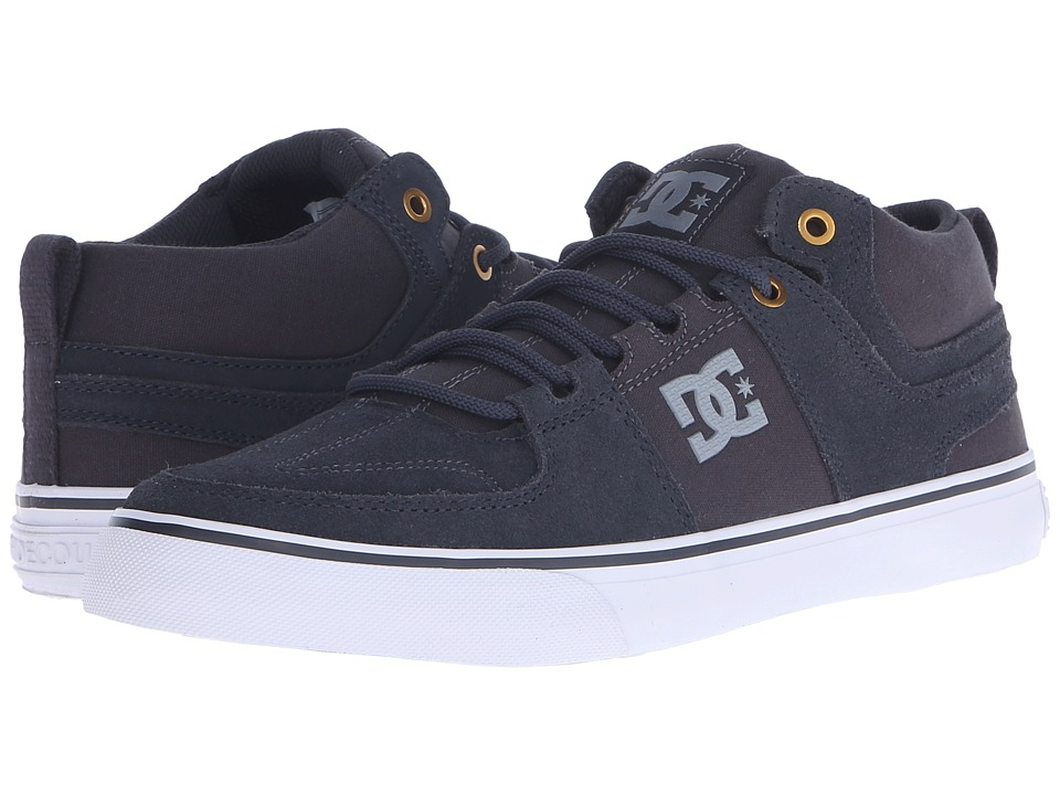 DC - Lynx Vulc Mid (Charcoal /Cool Grey) Skate Shoes