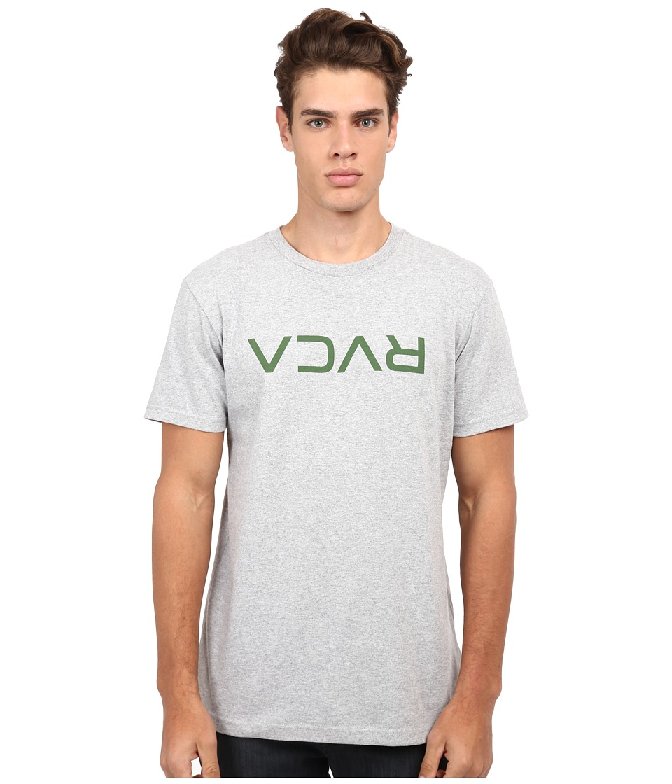 RVCA - Flipped Tee (Athletic Heather) Men's T Shirt