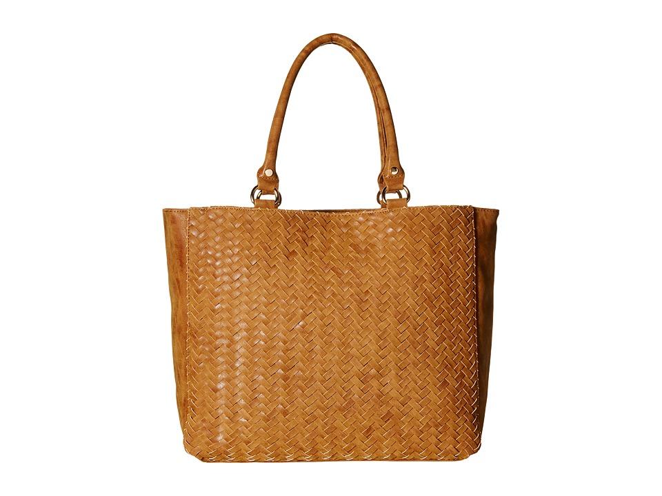 Deux Lux - Madison Tote (Cognac) Tote Handbags