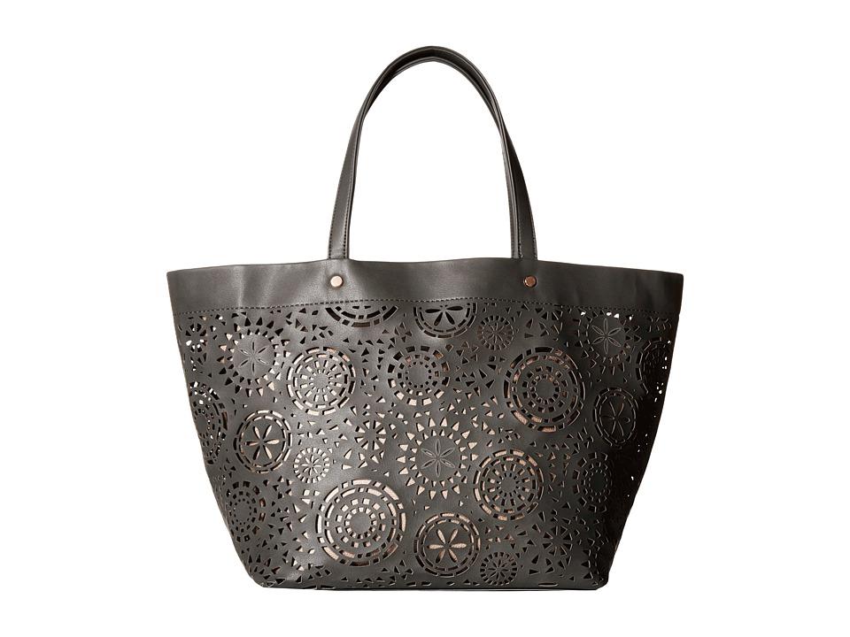 Deux Lux - Aztec Tote (Grey) Tote Handbags