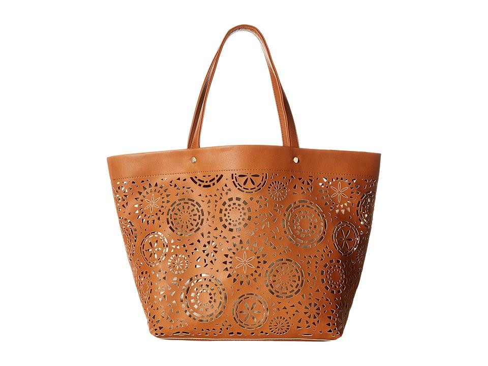 Deux Lux - Aztec Tote (Cognac) Tote Handbags