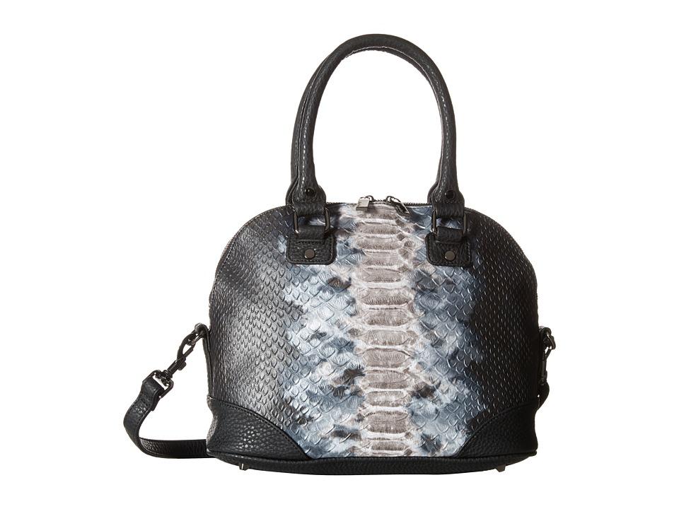 Deux Lux - Capricorn Satchel (Silver) Satchel Handbags