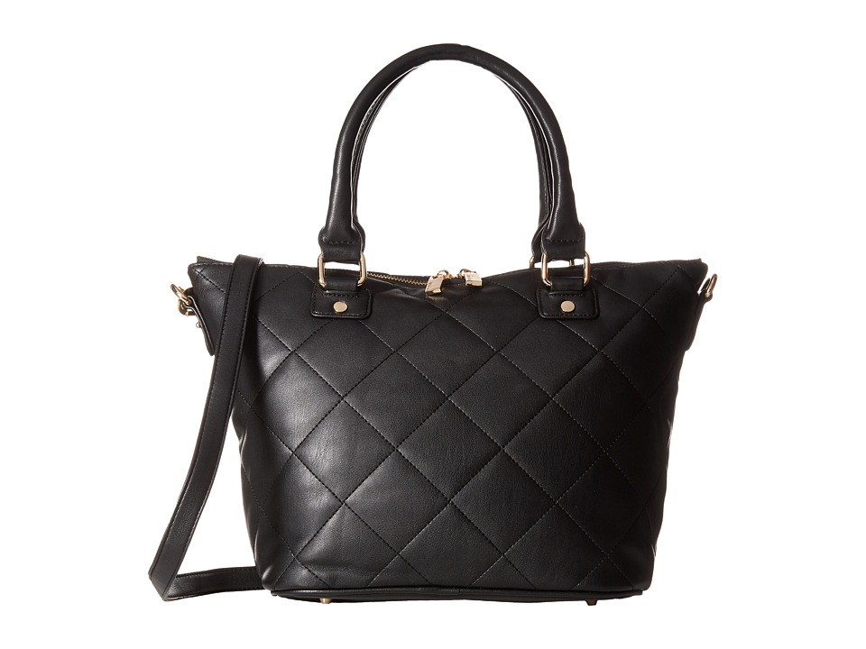 Deux Lux - Sydney Satchel (Black) Satchel Handbags