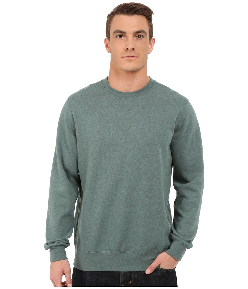RVCA - Forge Label Fleece (Sage Leaf) Men's Sweatshirt