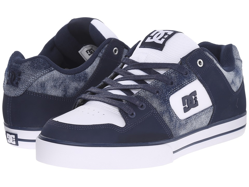 DC - Pure SE (Denim) Men's Skate Shoes