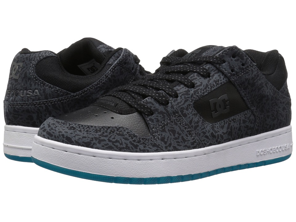 DC - Manteca (Black/Glacier Blue) Men's Shoes