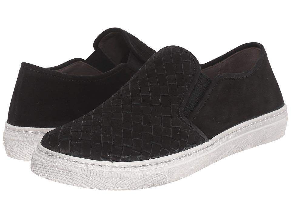 Gabor - Gabor 44.345 (Schwarz Nubuk Lavato) Women's Slip on Shoes