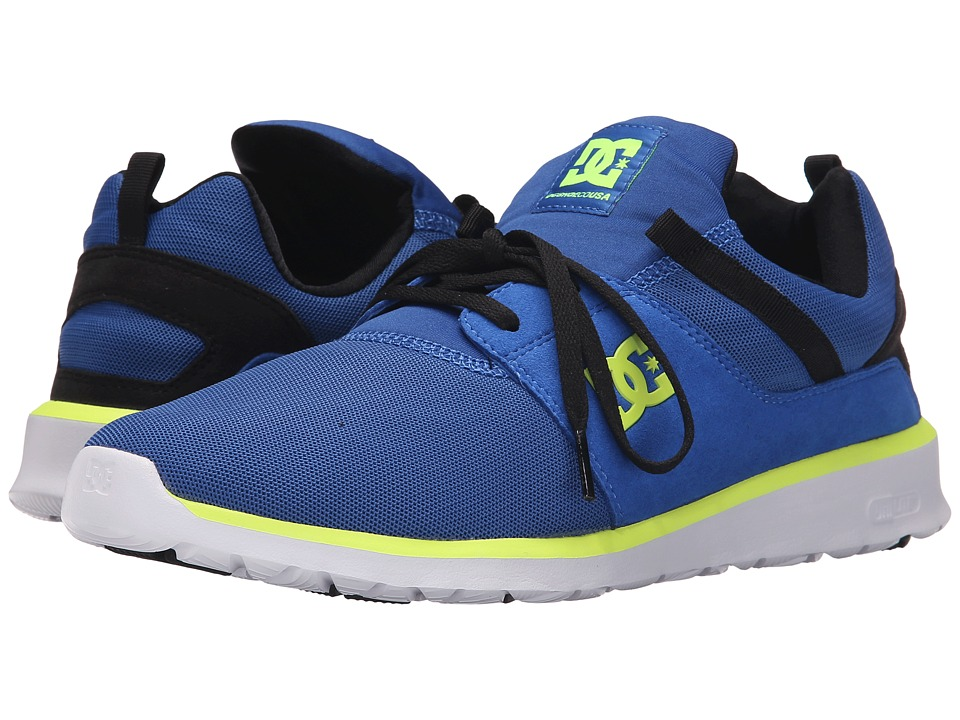 DC - Heathrow (Blue/Black/Yellow) Skate Shoes