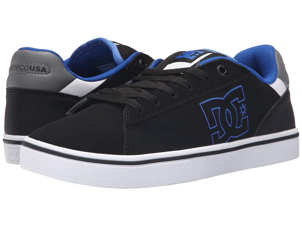 DC - Notch (Black/Blue) Men's Skate Shoes