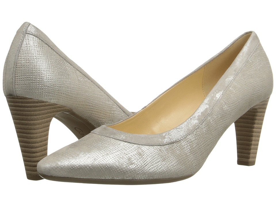 Gabor Gabor 45.156 (Visone Canvas Metallic/Caruso) High Heels