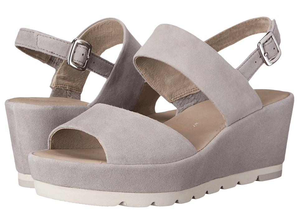 Gabor - Gabor 45.740 (Grau Samtchevreau) Women's Sandals