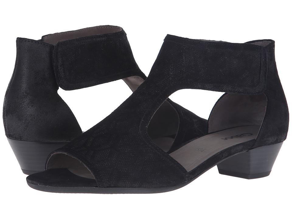Gabor - Gabor 45.851 (Schwarz Caruso Metallic) Women's Sandals