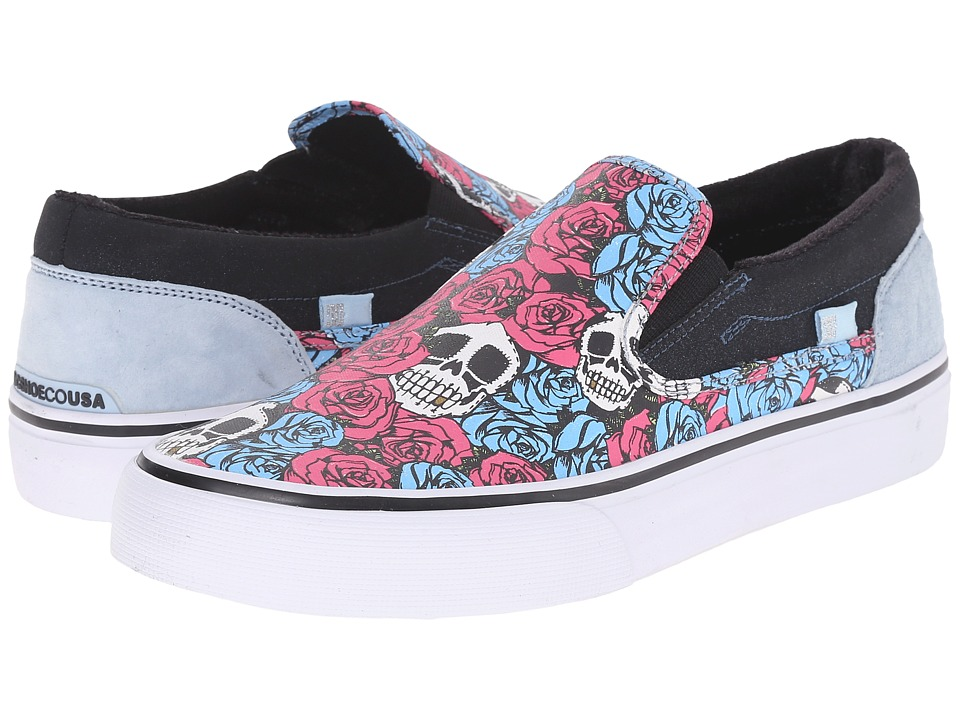 DC - Trase Slip-On X TR (Rose) Skate Shoes