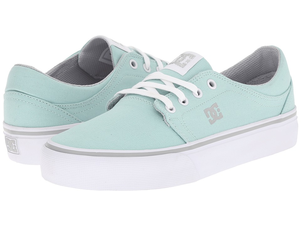 DC - Trase TX (Blue Mist) Women's Skate Shoes