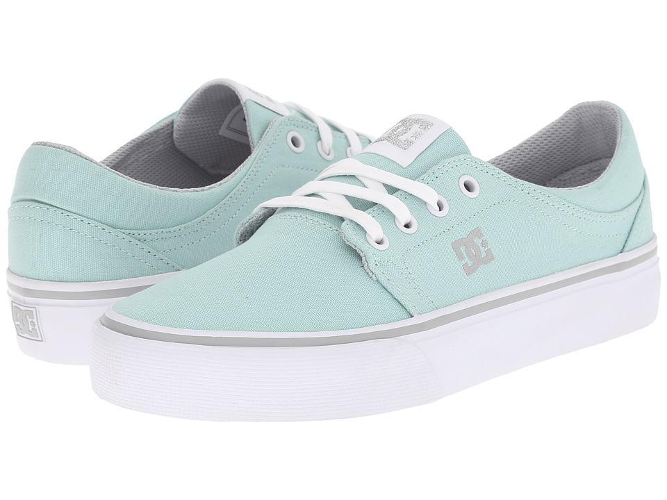 DC - Trase TX (Blue Mist) Women's Skate Shoes
