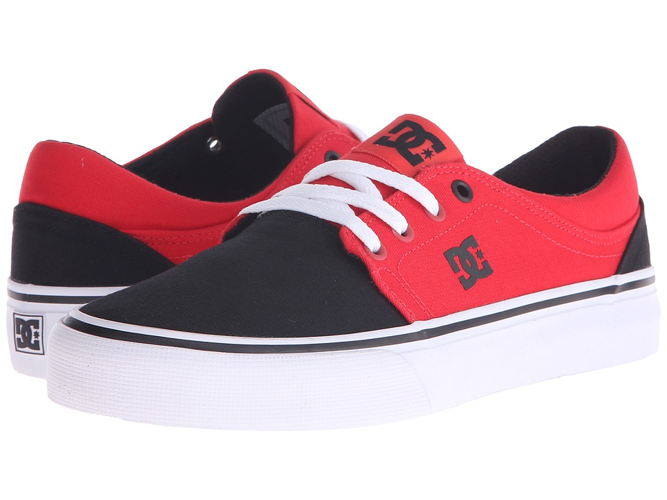 DC - Trase TX (Black/Poppy Red) Women