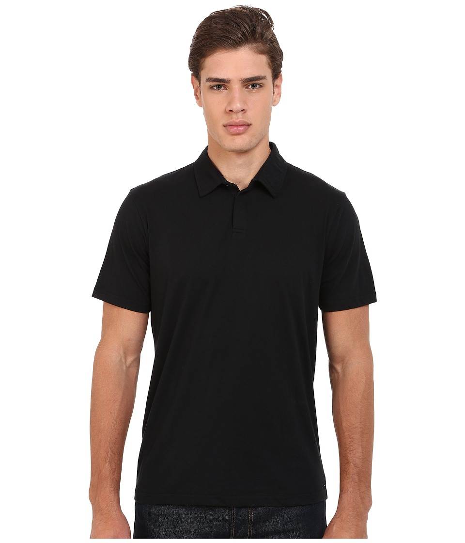 RVCA - Sure Thing II Polo (Black) Men's Short Sleeve Knit