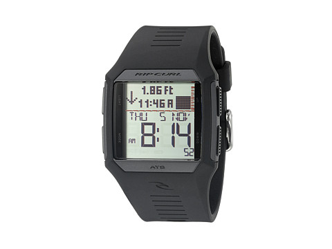 Rip Curl - Rifles Tide Watch (Black) Watches