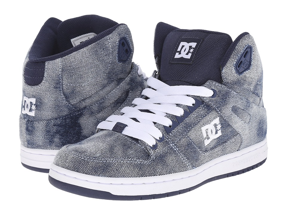 DC - Rebound Hi SE W (Denim) Women's Skate Shoes