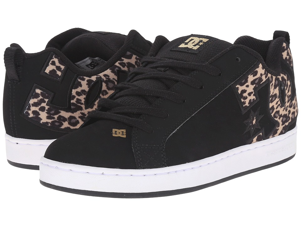 DC - Court Graffik SE W (Black/Tan) Women's Skate Shoes