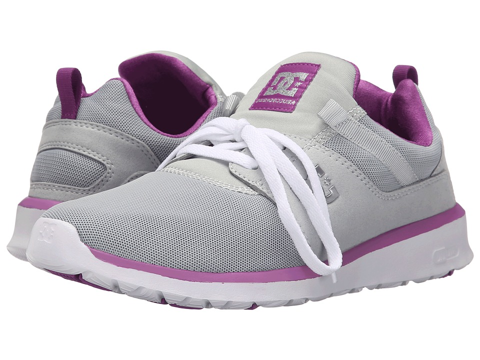 DC - Heathrow (Armor/Purple) Women's Skate Shoes