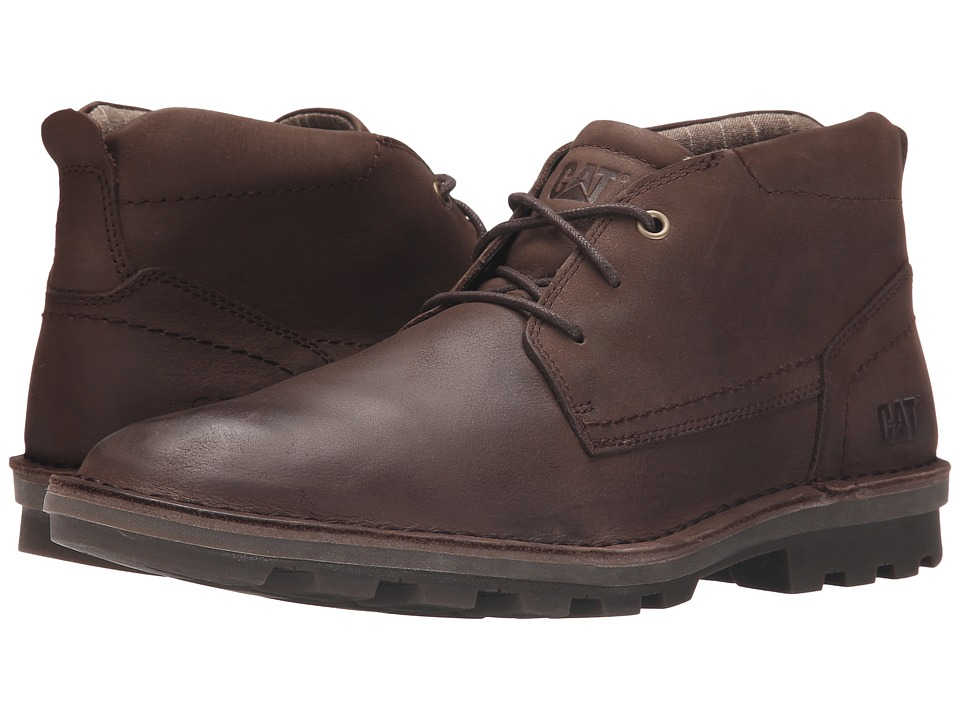 Caterpillar - Brady Mid (Summer Brown) Men's Lace-up Boots
