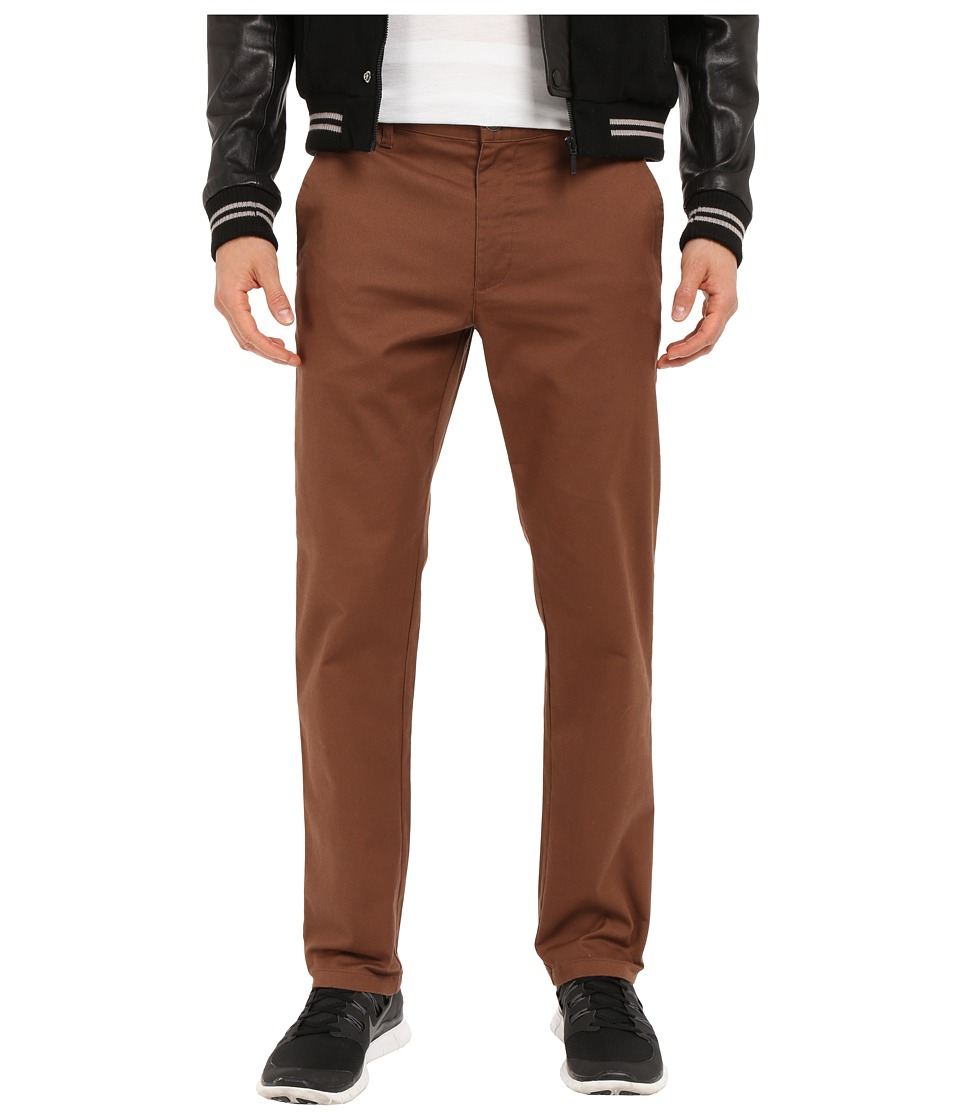 RVCA - The Week-End Stretch Pants (Cocoa) Men's Casual Pants